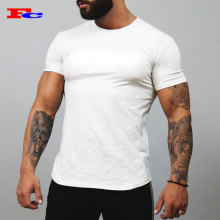 Factory Custom Made Muscle Fit Short Sleeve Gym Clothing Mens T Shirts