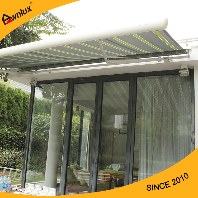 laminated sunsetter awning roof middletown fabric in watch retractable nj