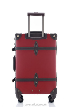 Abs pc Stock Travel Vintage Trolley Luggage Hot Sale - Buy Trolley ...