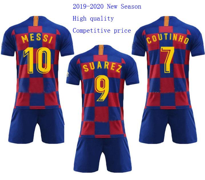 Best grade 2019-2020 Season European club football jersey Camiseta de futbol custom soccer jersey, Original color