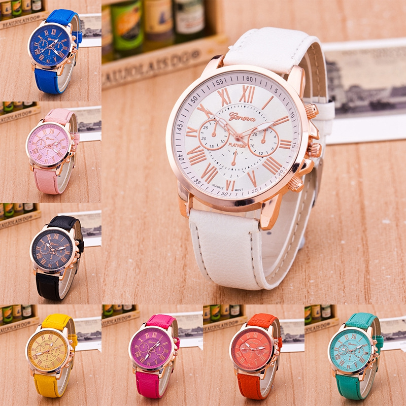 2018 New Wholesale Women Bracelet Watch Fashion Ladies Casual Geneva Watches WH0011