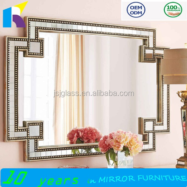 2016 hot sale high quality bathroom decorative mirror hotel wall mirrors manufacturers - Decorative Mirror Manufacturers