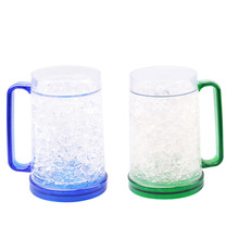 Eco Melamine Liquid Filled Recycle Beer Ice Mug