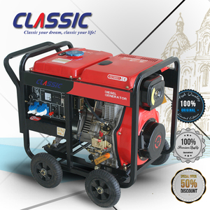 CLASSIC CHINA 3KVA Hot Sale! 3KW Generator, Diesel Engine Open Power Generator, Portable Domestic Generator