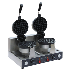 2017 Factory Wholesale Electric Rotating Commercial Waffle Maker 220v Waffle Maker Price UWBX-2