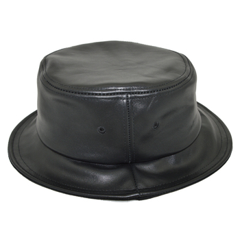 Short Brim All Over Print Pattern Quality Made Custom Bulk Girls Hats  Waterproof Black Leather Bucket 155ae9f92f9