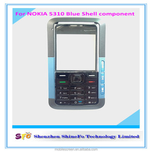 high quality mobile phone full housing for cell phone Nokia 5310 complete  housing