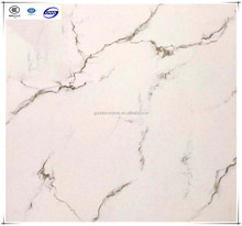 White Volakas Rustic Floor Tiles Liquid 3D Floor Tiles 600x600mm in China