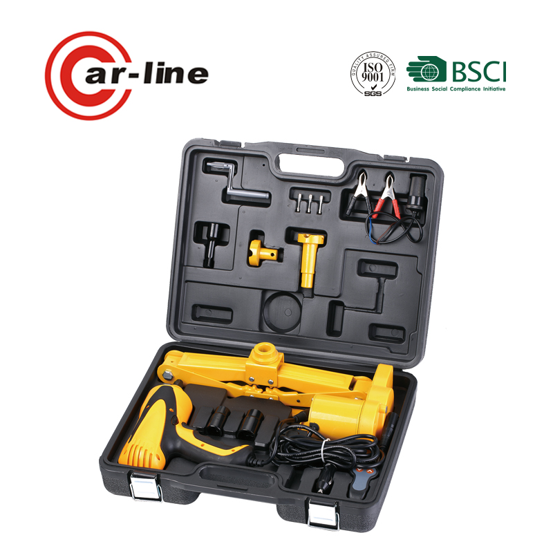 China 2 in 1 car electric jack and wrench With CE Certificates