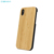 Hot Custom Real Blank Black Bamboo Wood Cell Phone Case For iPhone X XR XS MAX