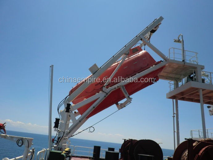 Marine 5m Solas Standard Frp Totally Enclosed Lifeboat ...