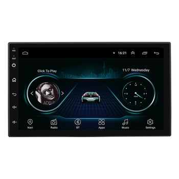 Vier-core 7 zoll Universal 2 Din Android 8.1 Auto DVD-multimedia-Player
