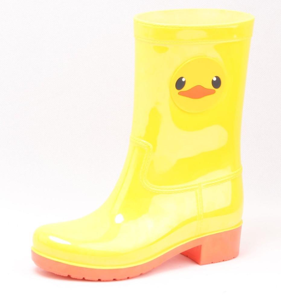 yellow duck cartoon pvc rain boots wholesale buy pvc rain boots