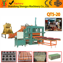 Low cost hydraulic automatic brick production line made in China QT5-20