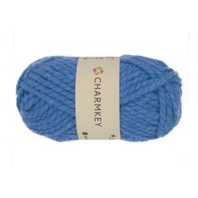 Charmkey best selling chunky acrylic wool blended yarn price for carpet knitting from stock