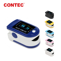 CONTEC CMS50D fda approved water proof pulse oximeter finger pulse blood