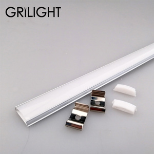 Bendable Aluminum extrusion profiles alu profile led bar aluminium profile for led light bar