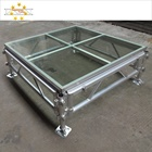China event stage aluminum portable stage plexiglass stage