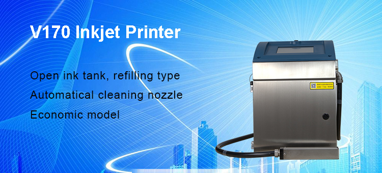 Industriële inkjet Printer Batch Code printing machine Auto Cleaning Inkjet printer cij printer fabrikanten