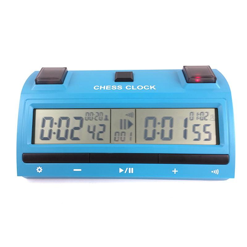 ZMart Pro Digital Chess Clock Blue