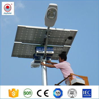 prices of solar street lights with 30w-50w led light bulb and 6m 8m pole