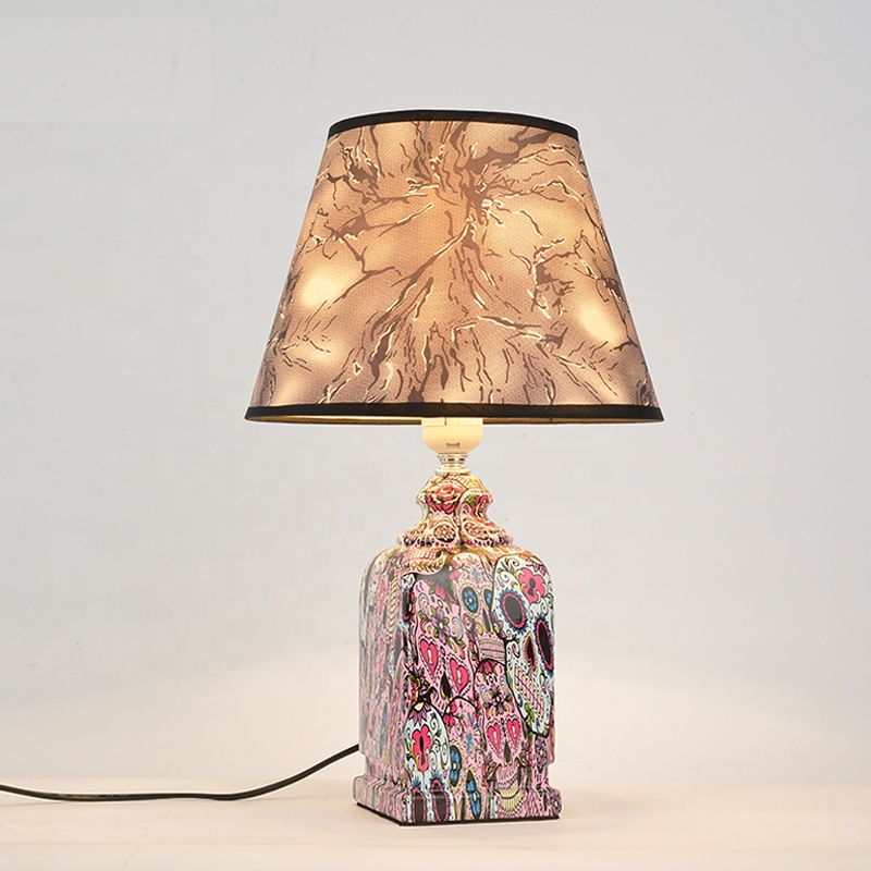 Wholesale Button Switch Hotel American Vintage Antique Decorative Bedside Mosaic Marble Table Lamp Buy Marble Table Lamp Bedside Lamp Table Mosaic Table Lamp Product On Alibaba Com