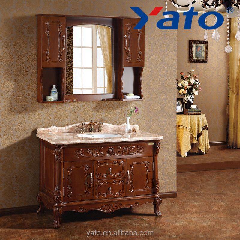 Yato Top Quality Bathroom Products Wooden Cabinet European Style ...