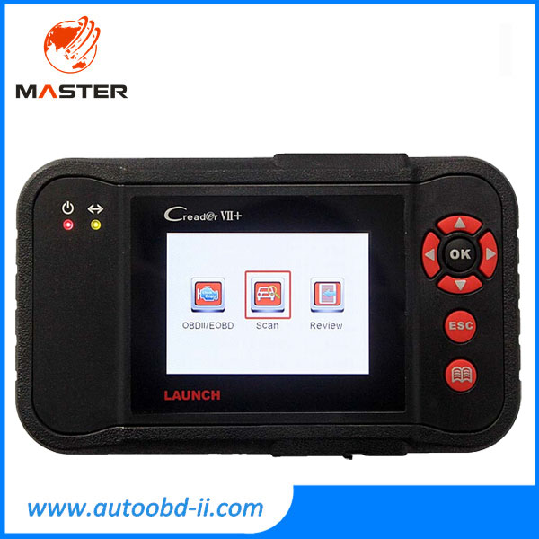 2015 New Released Auto Code Reader Launch X431 Creader VII+ Equal to CRP123 ABS SRS Creader VII Plus