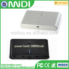 Certification approved 12000 mAh Slim power bank charging powerbanks for Smart phone ,ipad ,ipod