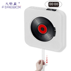 High quality classic BT CD speaker wall hanging home hifi portable CD player with USB connection for kids