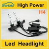 8000 lumen car h4 led headlight