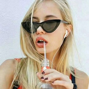 Fashion sunglasses for women 2018 cat eye party sun glasses