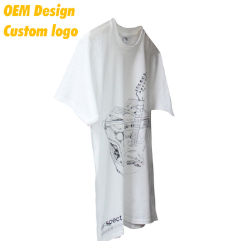 Good Quality Elastic Ink print AU size Neck tag White Crew Collar Election T Shirt OEM for Men