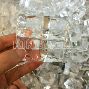 Industrial ice making machines clear edible cube ice for hotel/restaurant/bar