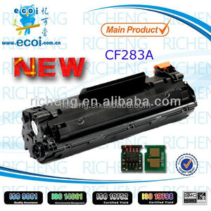 CF283A Compatible Empty toner Cartridge with Toner