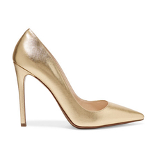 Shoes women heel 2018 new arrival ladies party wear gold high heels