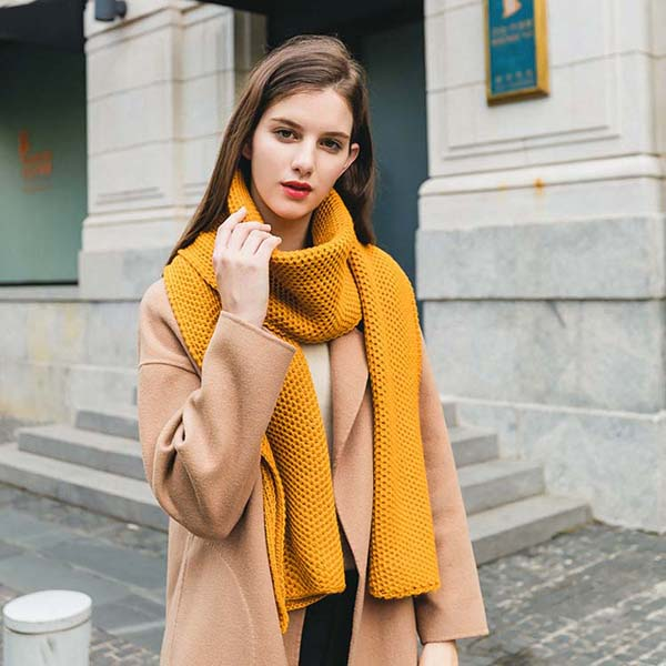 Fashion Women Winter Wear Warm Thick Knitted Scarf