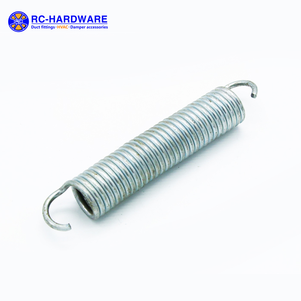 Alibaba Manufacture Custom Metal Extension Spring With Hooks