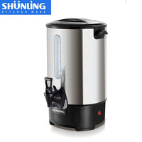 20 liter double layer stainless steel electric water boiler / electric kettle