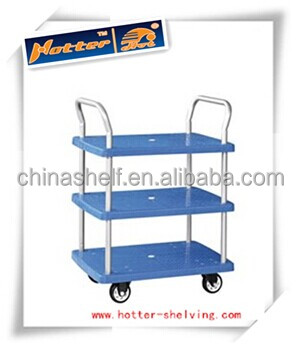 Hot sale 4-wheel hotel food cart