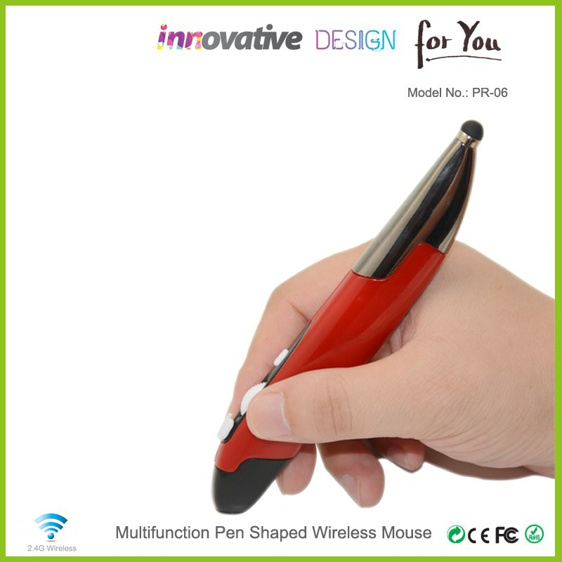 Factory direct sales high-end deluxe 2.4G wireless digital mouse pen drawing with capacitive mini stylus PR-06