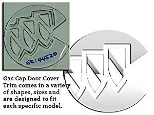 RAINIER 2004-2007 BUICK (1 Pc: Stainless Steel Fuel/Gas Door Cover Accent Trim, 4-door, SUV) GC44520:QAA
