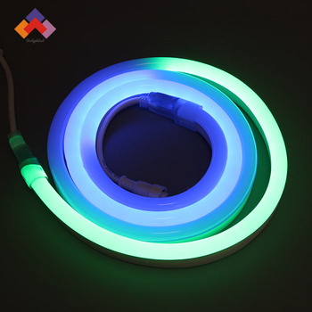 24v digital rgb neon led strip 5050 neon led rope light digital 24v digital rgb neon led strip 5050 neon led rope light digital neon rgb mozeypictures Image collections