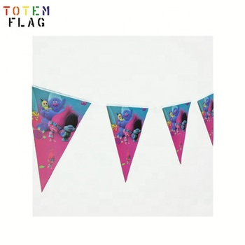 Wholesale Birthday Party Supplies Decorations Flag