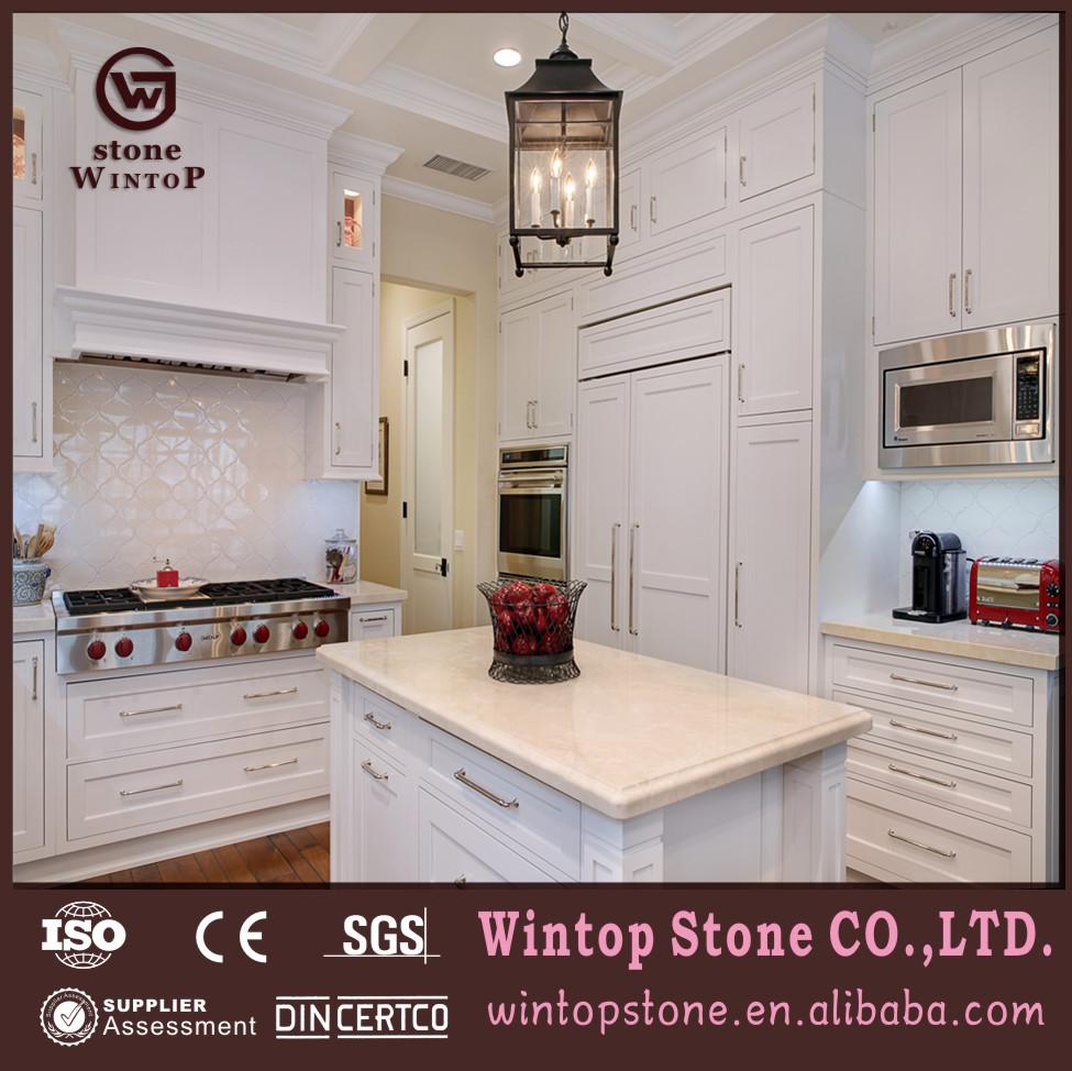 Bianco quarzo controsoffitto, controsoffitto della cucina a buon ...