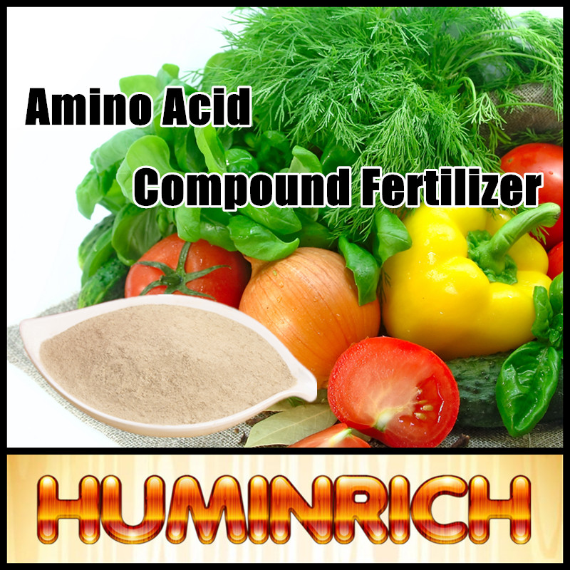 Huminrich Shenyang 70% Extraction Animal Amino Acid Powder Of Organic Fertilizer