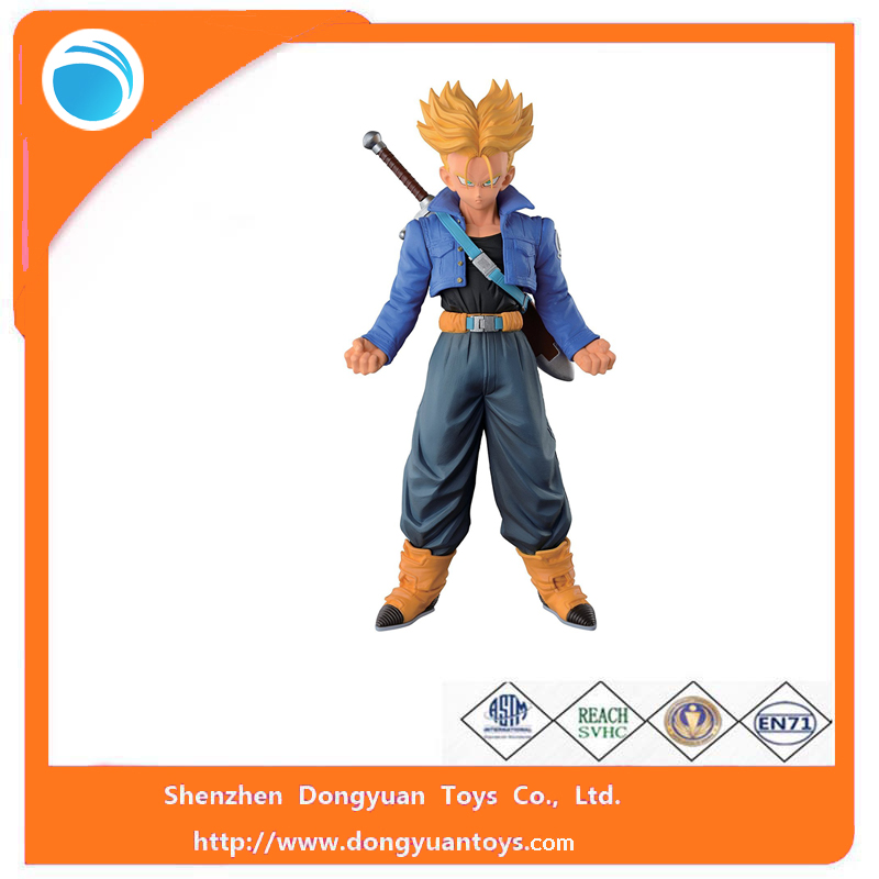 New Products Plastic Material Dragon Ball Anime Figure