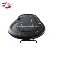 Alibaba luxury chinese casino texas holder poker game table for 9 player