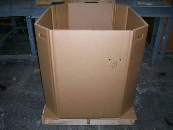 Custom Gaylord Produce Container Bulk Bins Bulk Boxes