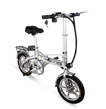 Foldable electric bicycle folding electric bike